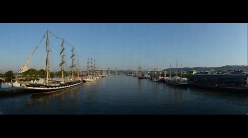 Rouen - Armada 2013 - Pont Guillaume le Conquérant