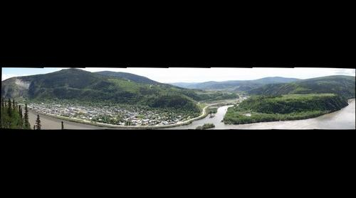 Dawson City and Trochek, June 2013