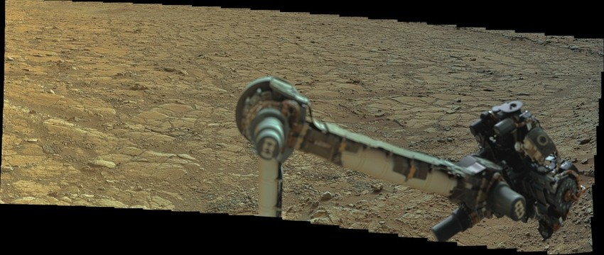 MSL Curiosity @Yellowknife Bay ~ Sol 184