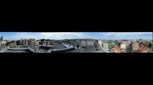 Widok z INFOBOX Gdynia, czerwiec 2013