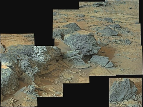 MSL Curiosity @Point Lake ~ Sol 305