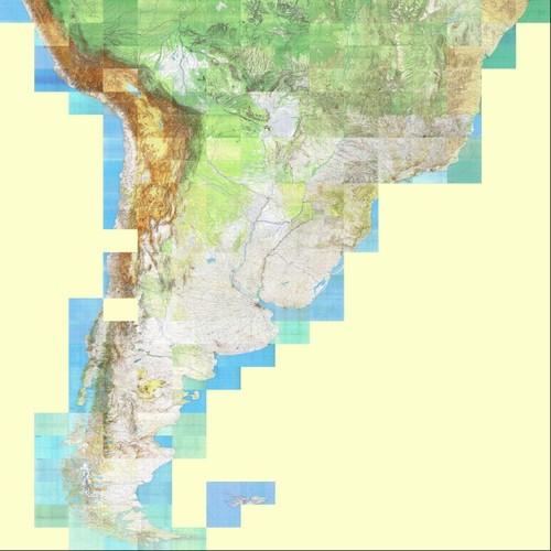 America Russian Topographic Map 1500000