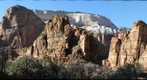 View from base of Weeping Rock Trail, Zion NP