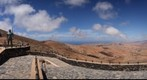 Mirador en carretera a Bentancuria. Isla de Fuerteventura.