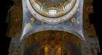 Inside Church of Our Savior on the Spilled Blood (St. Petersburg, Russia)