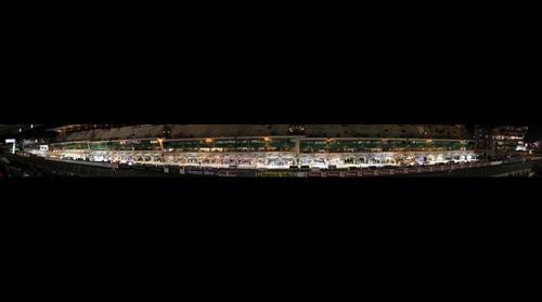 Le Mans 2013 pit boxes