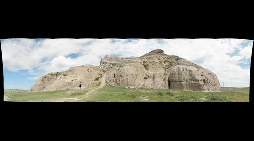 Castle Butte, Saskatchewan - July 1, 2013