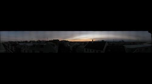 Reykjavik Winter Sunset
