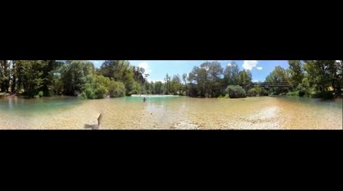 Río Tajo a la altura de Zaorejas