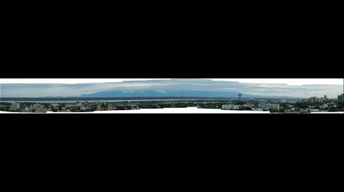 Panorama Sierra Nevada de Santa Marta desde Barranquilla