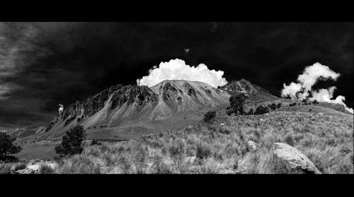 Exterior del cráter del Nevado de Toluca