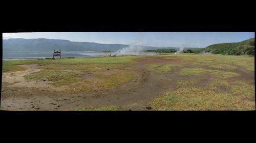 Lake Bogoria Geysers - East African Rift Valley, Kenya