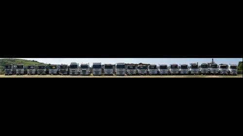Harts Haulage Fleet
