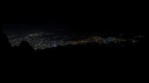 Bakacaktan Bursanın Gece Görüntüsü