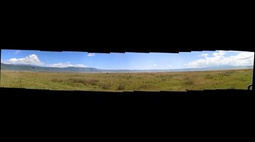 Ngorongoro Crater in Tanzania - 2013 May
