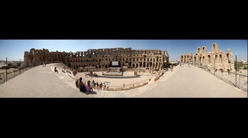 The Amphitheatre of El Jem - Tunisia