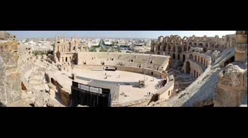 The Amphitheatre of El Jem 2 - Tunisia