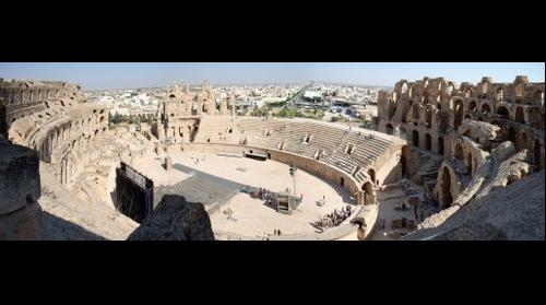 The Amphitheatre of El Jem 3 - Tunisia