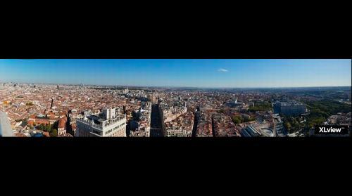 Madrid desde su torre más alta.