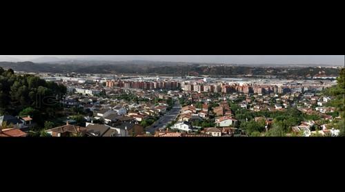 Sant Andreu visto desde la colonia.