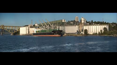 Viterra Grain terminal – Vancouver - HDR – Summer evening 2013