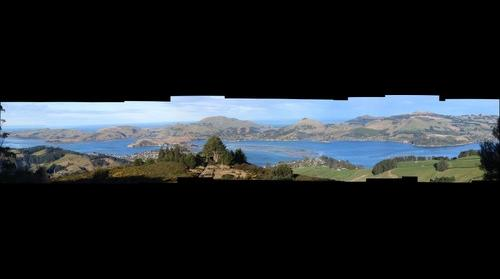 Otago Peninsula Panorama (New Zealand)