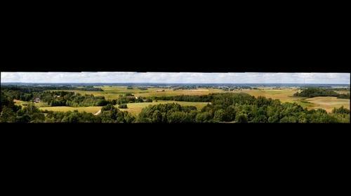Panorama nuo Šatrijos kalno / Panorama from Shatrija hill