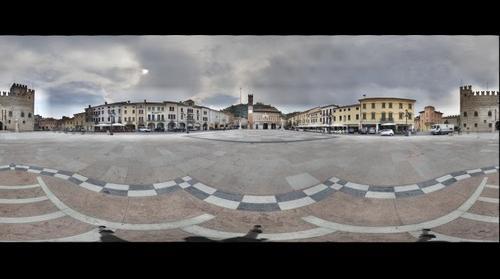 Marostica La Piazza degli Scacchi