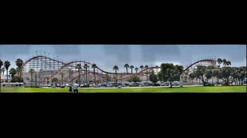 Giant Dipper Roller Coaster, Mission Beach, San Diego, Ca