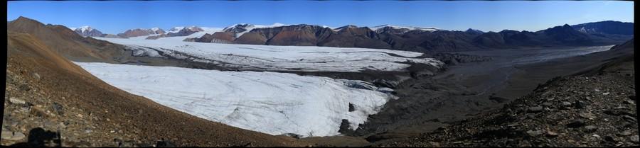 White & Thompson Glaciers, Axel Heiberg Island