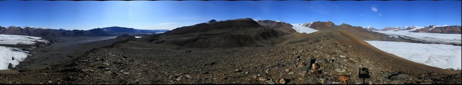 360 panorama from White Glacier Hill, Axel Heiberg Island