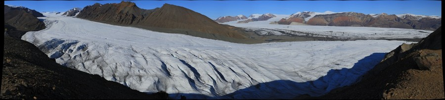 White Glacier, July 17, 2013