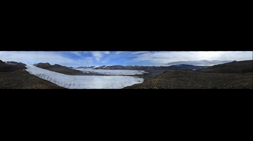 360 panorama of White Glacier, Axel Heiberg Island