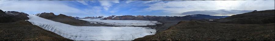 360 panorama of White Glacier, Axel Heiberg Island