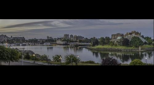 Pano: Inner Harbour Sunrise