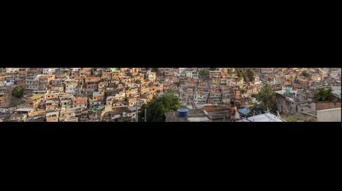 Favela do Alemão no Rio de Janeiro Brasil