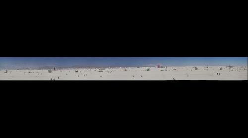Burning Man 2012 - View from the Man