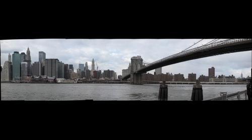 Lower New York City Skyline