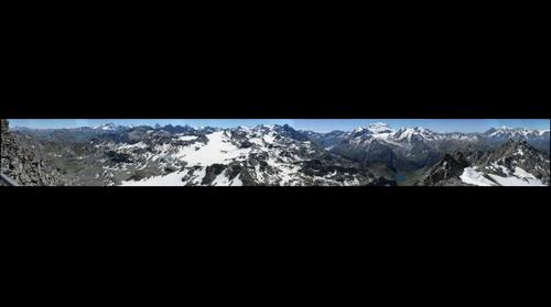 View From the top of the Mont Fort  (Verbier) Switzerland