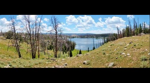 Lovatt Lake in the Wind River Mountains
