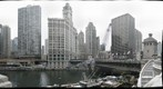 Looking North from Wacker Drive (Chicago, IL)