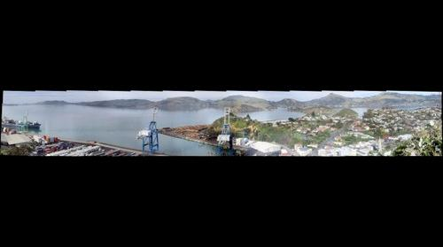 Port Chalmers, near Dunedin, New Zealand