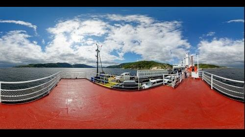 Tadoussac Ferry,  Saguenay Fjord, Quebec