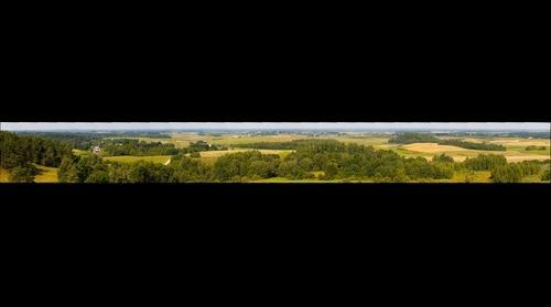 Panorama nuo Šatrijos kalno / Panorama from Satrija hill by