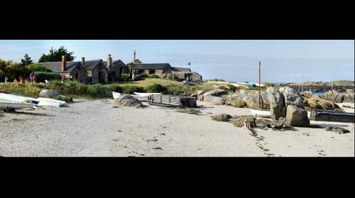 Chausey, Les petites Maisons des Blainvillais