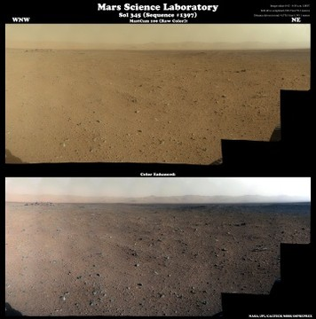 MSL - Sol 345 (Sequence #1397) MastCam 100