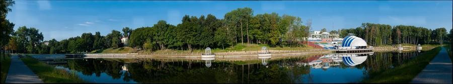 Белорусская сельхозаккадемия. Амфитеатр. Belarus Agricultural Accademia. Amphitheater