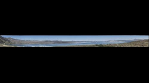 Mono Lake from Visitor Center 08/13/13