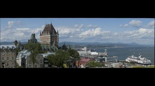 Old Quebec City Viewed from the Citadel