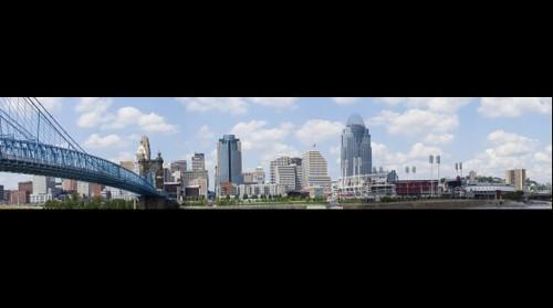 Cincinnati Skyline - 2